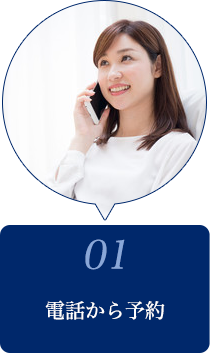 01電話から予約