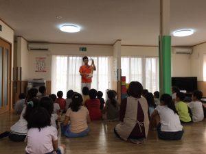 四日市市 浜田学童保育所 姿勢教室キャラバン