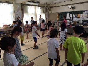四日市市 桜学童保育所 姿勢教室キャラバン