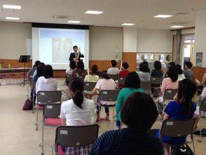 楠小学校 PTA姿勢の講演会